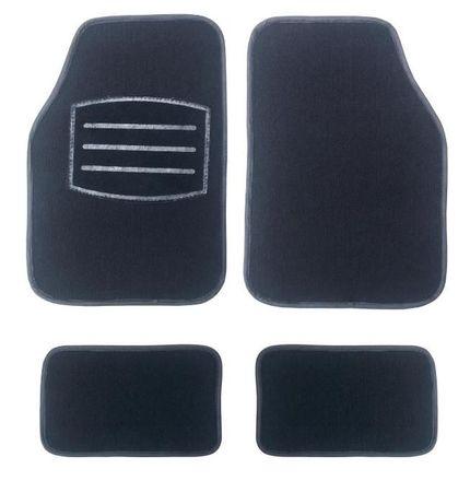 Универсални текстилни стелки за кола, джип, бус к-кт 4бр. - НОВИ