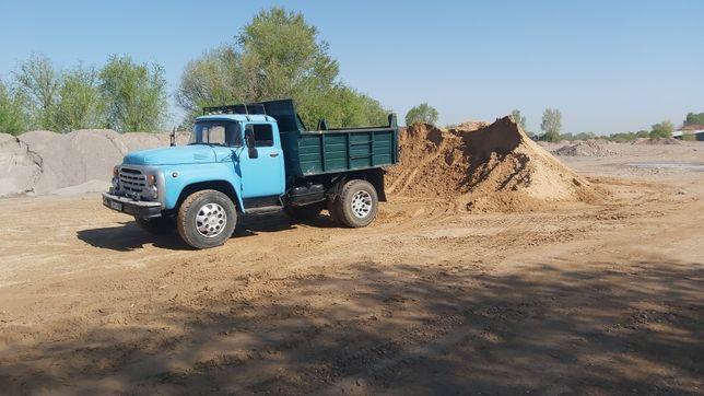 Доставка песок щебень сникерс глина оптималка отсев вывоз мусора дрова