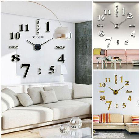 Настенные часы , 3D Часы , Большие часы , Огромные часы , Часы для дом