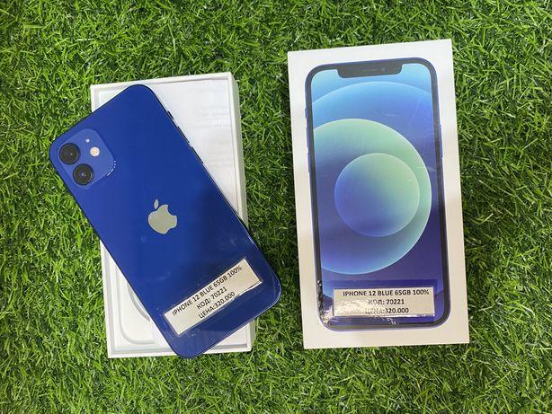 Iphone 12. Blue. 64gb. 100%