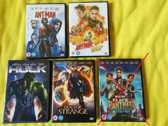 Marvel Cinematic Universe филми на DVD и Blu-ray 3D