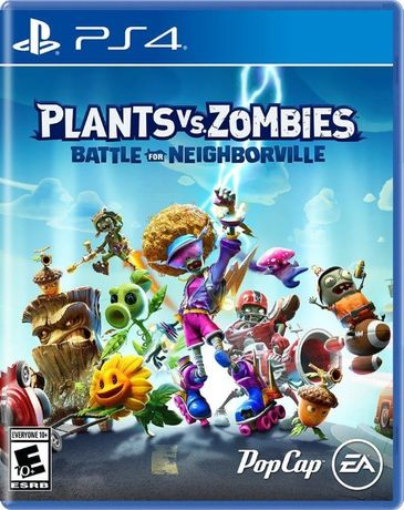 Plants vs. Zombies: Битва за Нейборвиль (PS4) PlayStation 4. Лицензия.