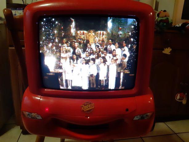 Vand televizor in forma de masinuta din Cars