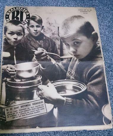Reviste vechi Realitatea Ilustrata din anii 1935, 1939, 1940