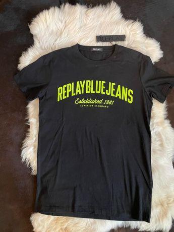 Нова Мъжка Оригинална Блуза, Тениска, Replay Риплей