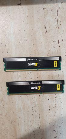 Kit RAM Dual Channel Corsair 4GB (2 x 2GB), DDR3, 9-9-9-24, 1600MHz