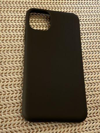 Husa Negra Husa negru mat iPhone 11 Pro Max, iPhone X, iPhone XS