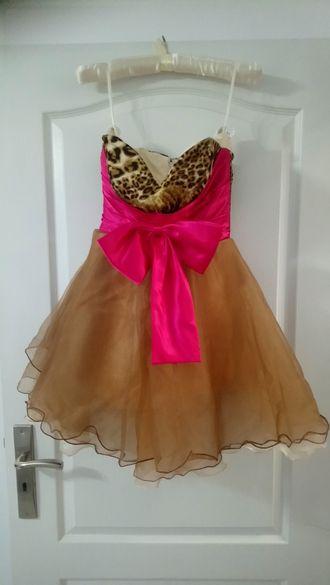 Официална рокля с обувки и чанта