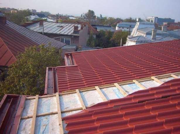 Mesteri pentru acoperisuri complete, sisteme pluviale