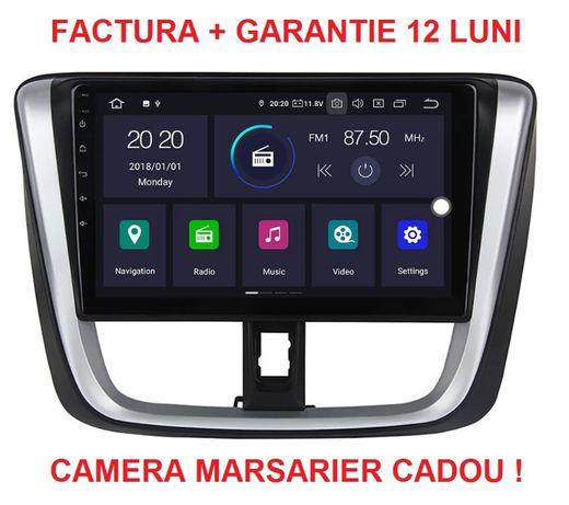 """Navigatie Android Toyota Yaris ( 2014 + ) , Display 10 """" , Garantie"""