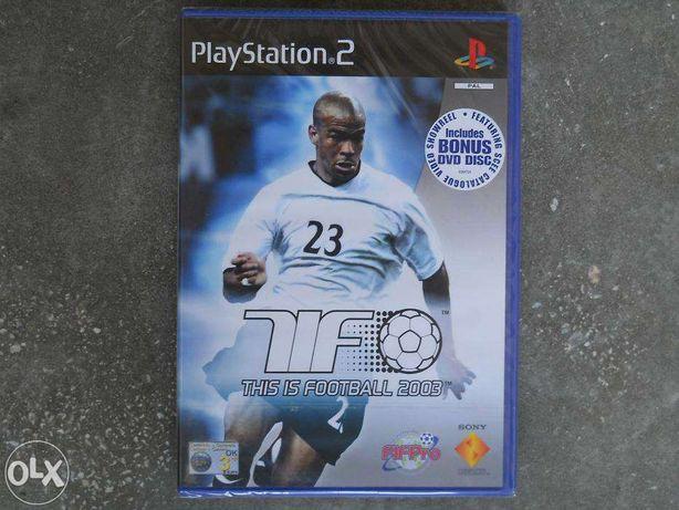 Joc PS2 THIS IS FOOTBAL 2003, original, sigilat, inclusiv DVD bonus