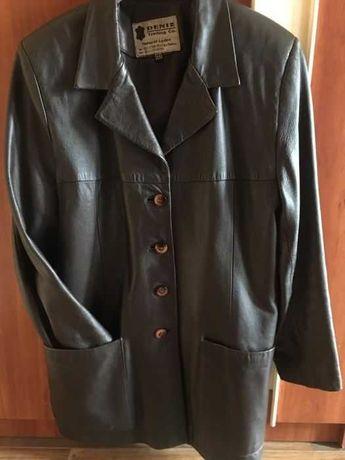 Женский кожаный пиджак (куртка) пр-во Турция
