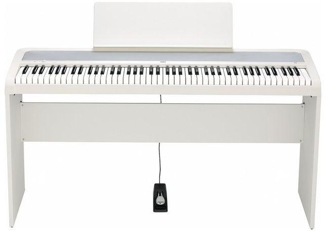 Цифровое пианино KORG B2-WH White + стойка STB1-WH