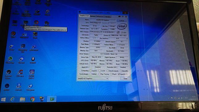 Продам рабочий ноутбук fugitsu