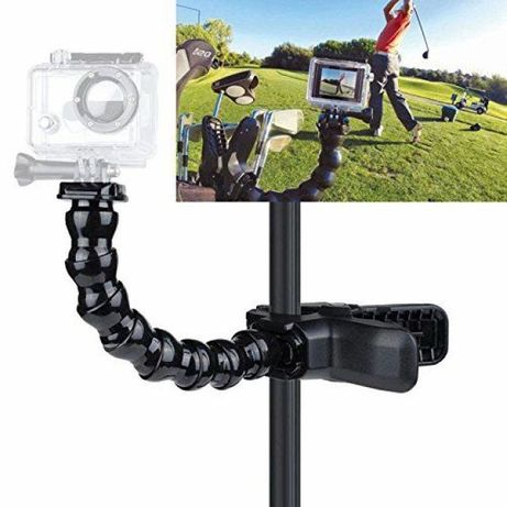 Гъвкав статив с щипка jaws flex clamp mount за екшън камери   hdcam.bg