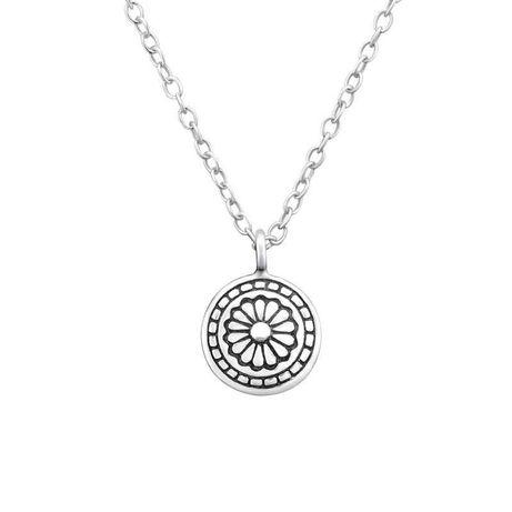 Colier din Argint 924 Floare Celtica