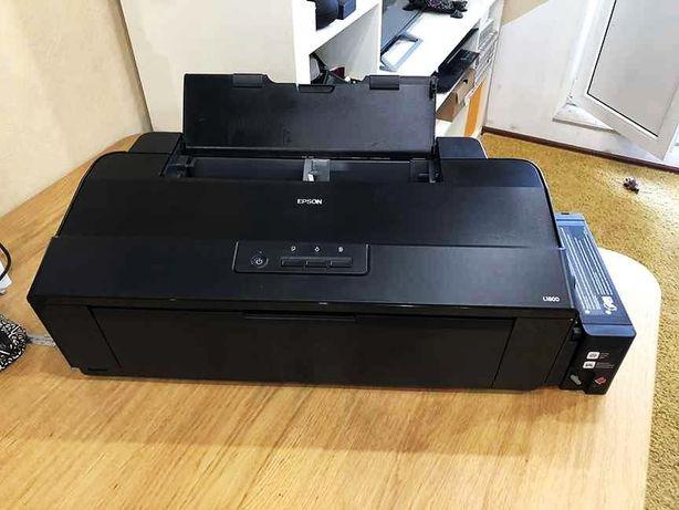 Принтер Epson L1800 с оригинальной СНПЧ