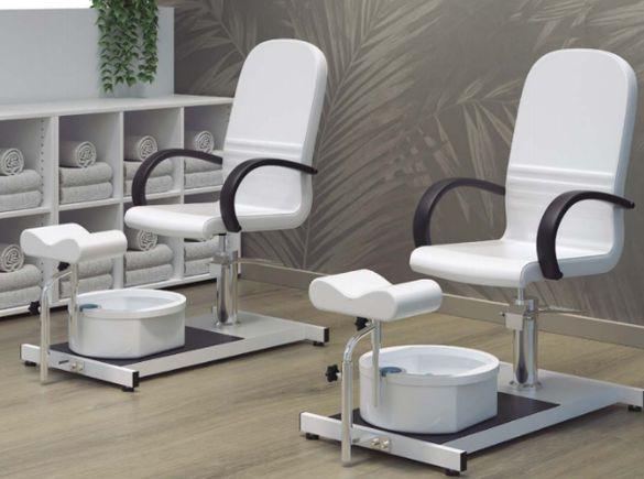 * Столове за педикюр - фиксирани/хидравлични/електрически