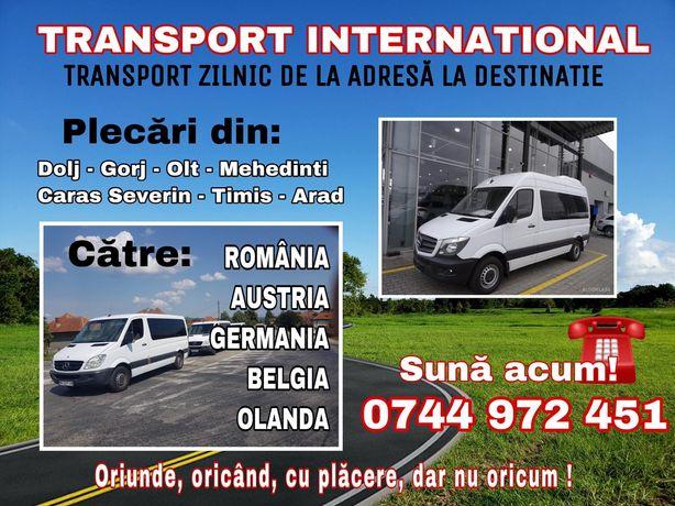 Transport zilnic Austria Germania la adresa Dolj