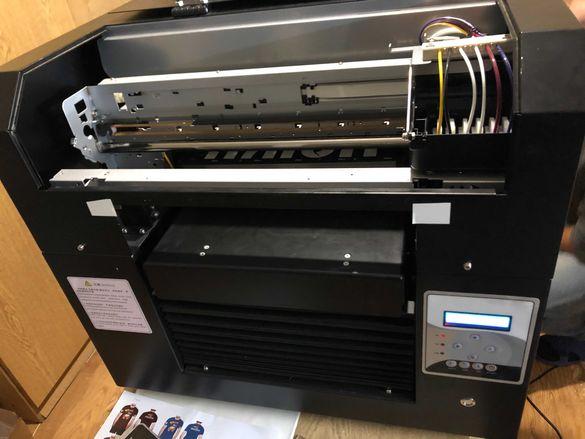 Принтер за тениски DTG/Принтер за директен печат на текстил/Printer А3