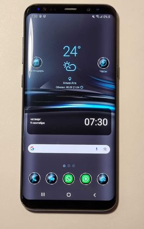 Samsung galaxy S8 plus (Blacke)