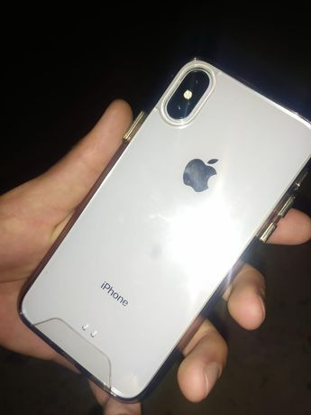 iPhone X  white 64 гб