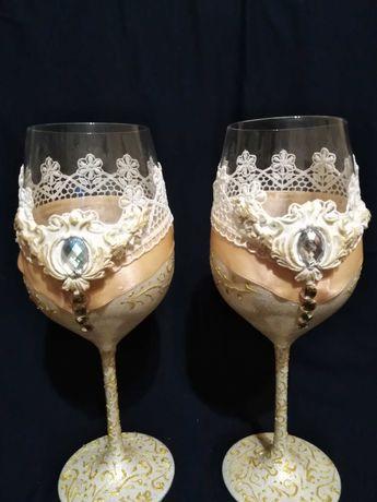 Големи чаши за свадба или специален повод!