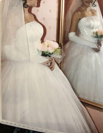 Пышное свадебное платье, той көйлек
