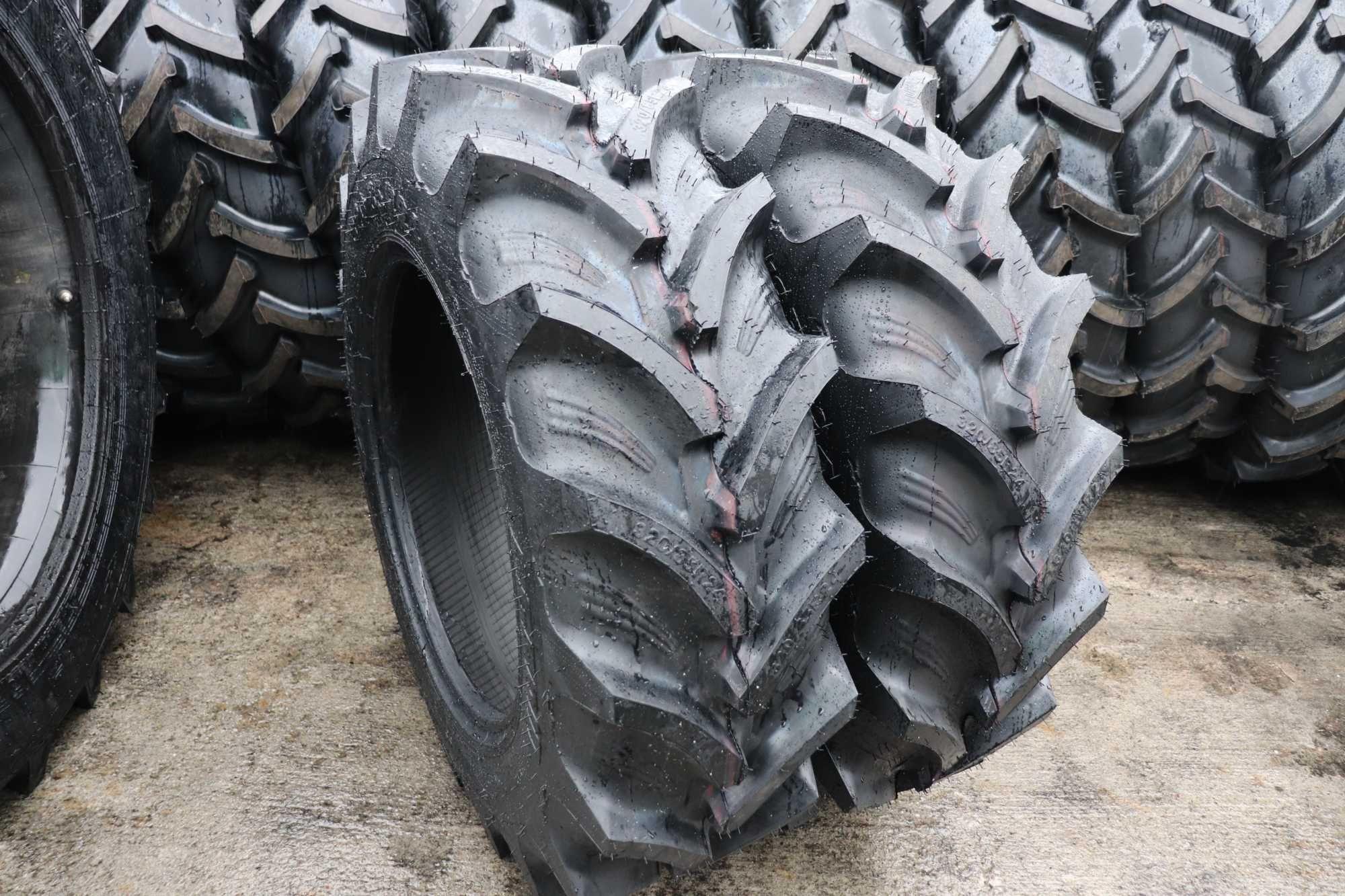 cauciucuri noi radiale 12.4R24 OZKA anvelope tractor fata 320/85 R24
