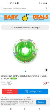 Colac pt bebelusi