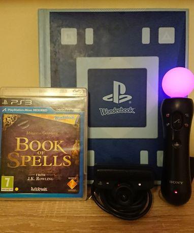 < PS3 Move > BG Audio Wonderbook Book of Spells PlayStation 3