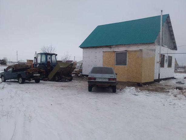 Продаётся новый дом 6 соток. 8.60×6 м,50 кв.м Уральск