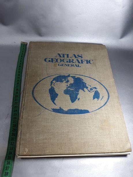 Atlas geografic din 1974 original de colecție macheta