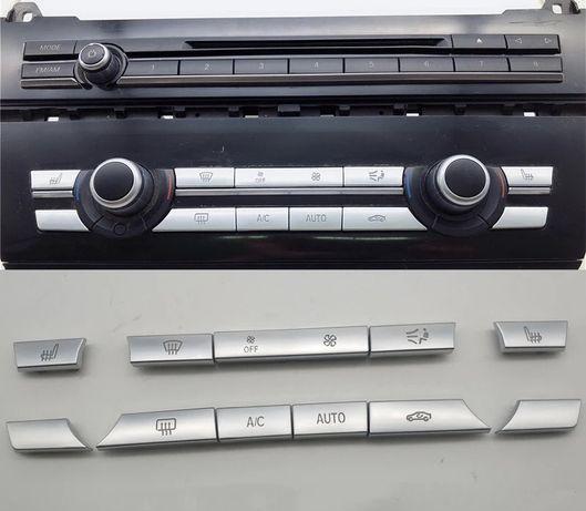 Бутон климатик парно BMW f10 F11 F01 F06 F07 бутони климатроник бмв