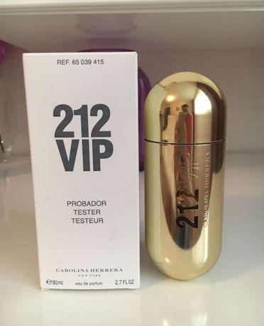 Женский парфюм Carolina Herrera 212 VIP 80ml Оригинальный тестер