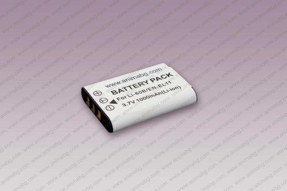 ANIMABG Батерия модел EN-EL11 / Li-60B / DB-80