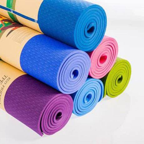 Постелка килим за йога, Пилатес, гимнастика