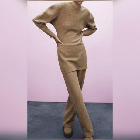 Новый костюм шерстяной Zara