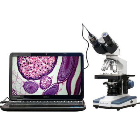 Microscop Digital Led Binocular cu Usb si inregistrare video 1,3 Mp