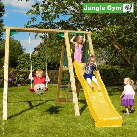 Leagan copii - Modul Jungle Gym Peak – Leagăn + Tobogan