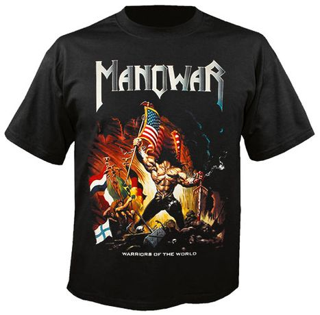 Метъл Тениски MANOWAR, Guns N' Roses, и още над 300 модела на Сайта НИ