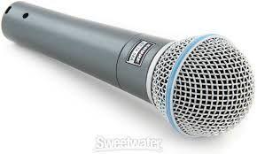 Microfon Shure beta 58a nou stare impecabila Pentru boxe active pasive