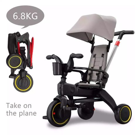 Детский велосипед складной ining baby Бесплатная Доставка по Ате