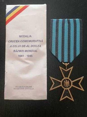 Medalie Crucea Comemorativa Al Doilea Război Mondial