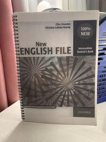Продам New English File intermediate