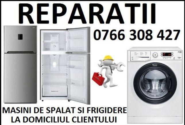 Reparatii masini de spalat și frigidere la domiciliu clientului