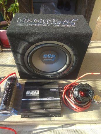Amplificator, subwoofer , statie , condensator auto