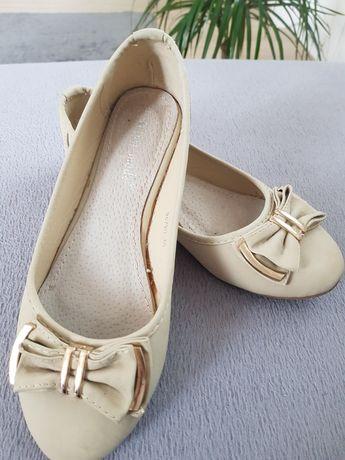Бежови дамски обувки