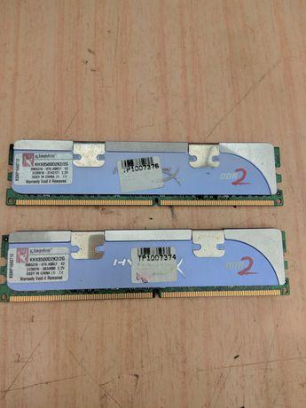 Memorii DDR2 2X2Ghz Kingstong
