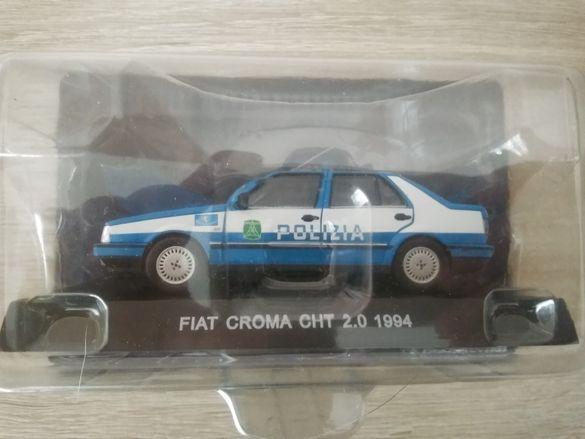 Fiat croma Polizia  мащаб 1:43